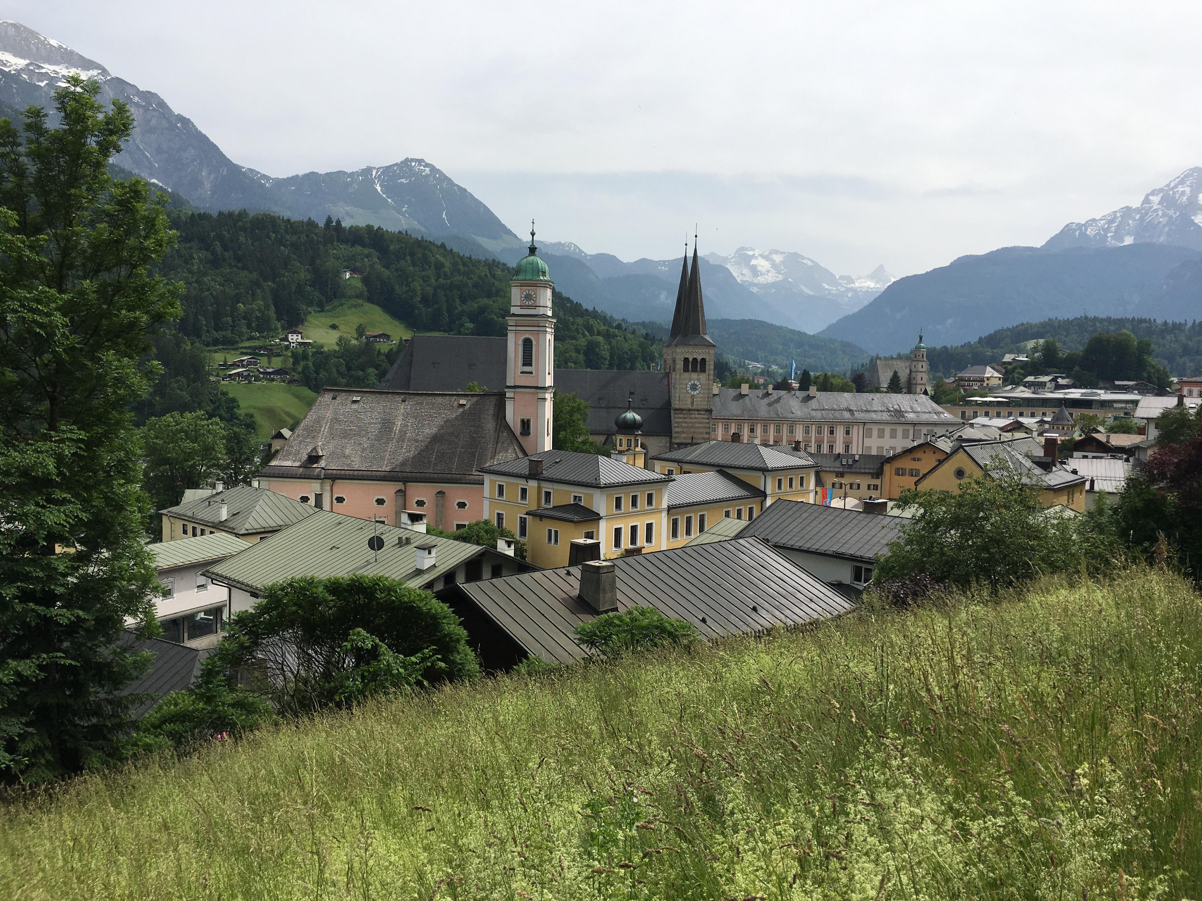Blick auf Berchtesgaden